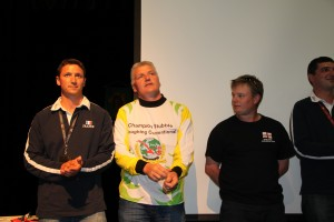 Conventional: L/R: Fabien Landre, France 2nd Eamonn Tracey, Republic of Ireland 1st Ashley Boyles, England 3rd