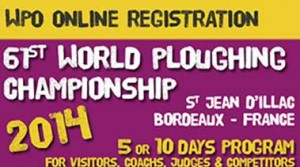 61st World Ploughing Championship Registration
